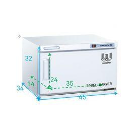 calentador de toallas 11L Warmex