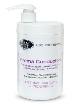 Crema conductora corporal estrías, marcas y cicatrices 1000 ml. KFS