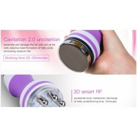 Cavitación Unoise + RF 3D PINK