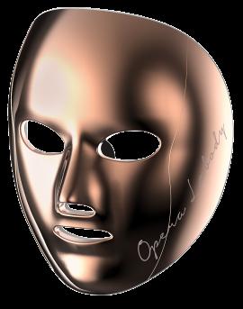 Máscara Led Opera